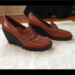 Donald J Pliner Wedge Loafers